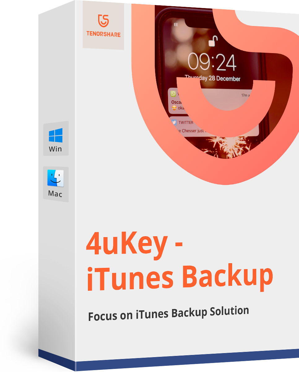 4uKey - iTunes Backup
