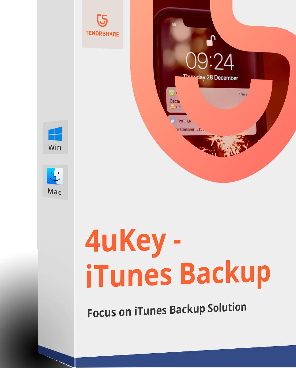 4uKey - iTunes Backup