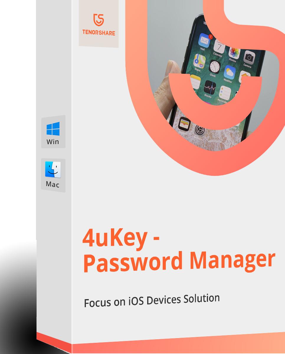 Tenorshare 4uKey - パスワードマネージャー