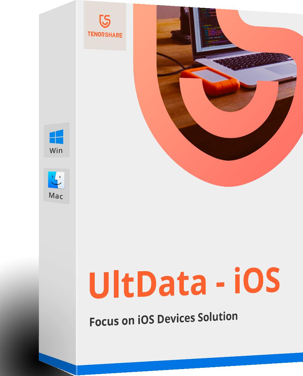 UltData - iOSデータ復元