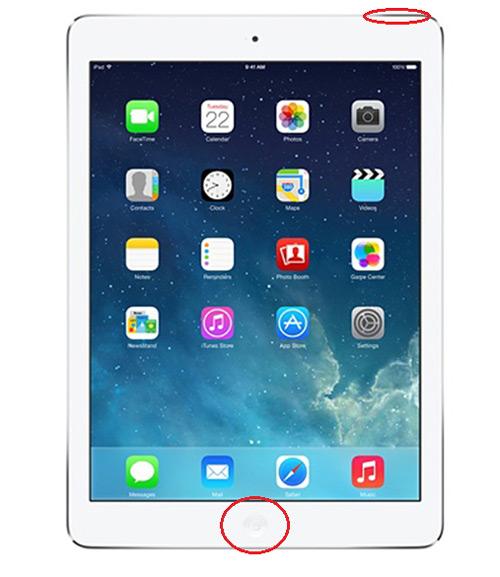 iPadを強制終了