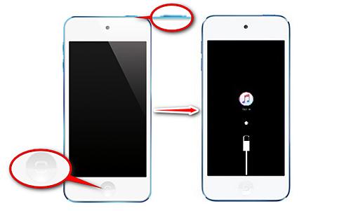 iPod リカバリーモード