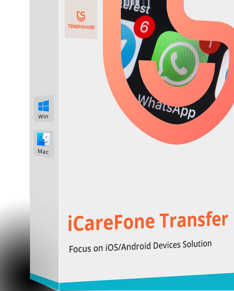iCareFone for WhatsApp Transfer