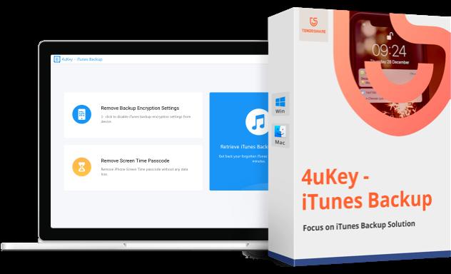 4uKey iTunes Backup