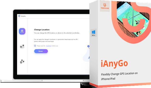 Tenorshare iAnyGo- GPS位置の変更