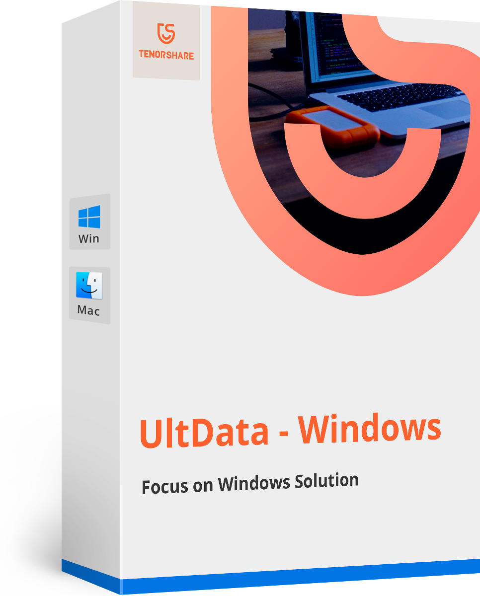 UltData - Windowsデータ復元